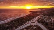 Surf City, Cordillera El Bálsamo y Atardecer Playa El Tunco